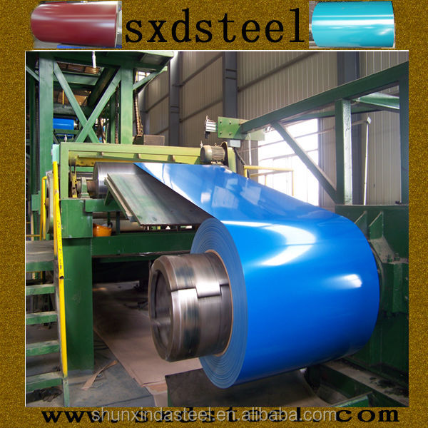Construction Materials Prepainted Steel Coil From Xingfu Industrial Park