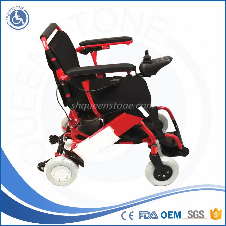 2015 Durable Folding Aluminium Lightweight Portable Power Wheelchairs for Injured Walking