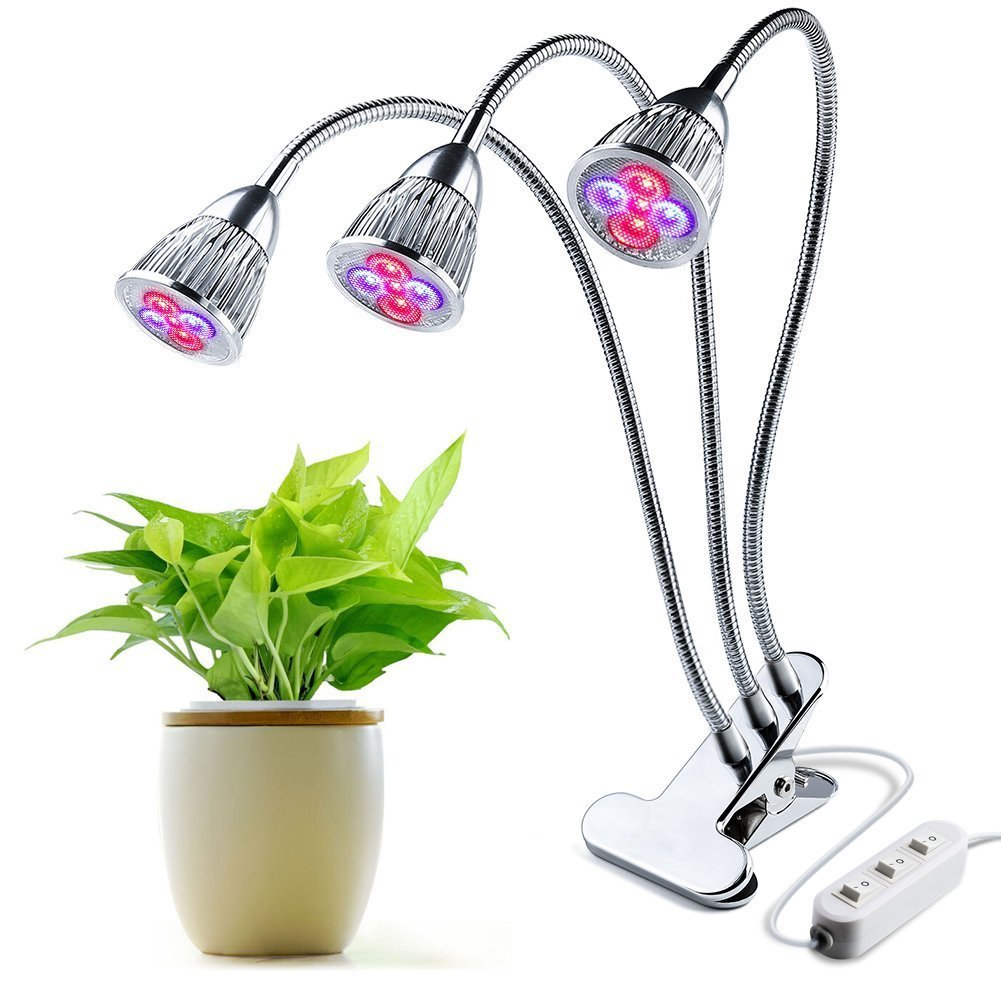 Cheap Triple Light Switch Find Deals On Line At Get Quotations Led Grow Plant Head Lights With Desk Clip
