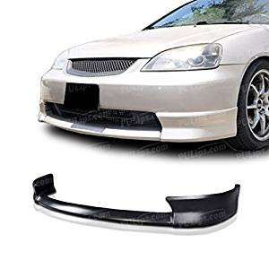 PULIps HDCV01XNFAD - HFP Style Front Bumper Lip For Honda Civic 2001-2003