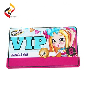 Customized Print Prepaid Smart Card / RFID Card for Park Tickets Standard Size CR80