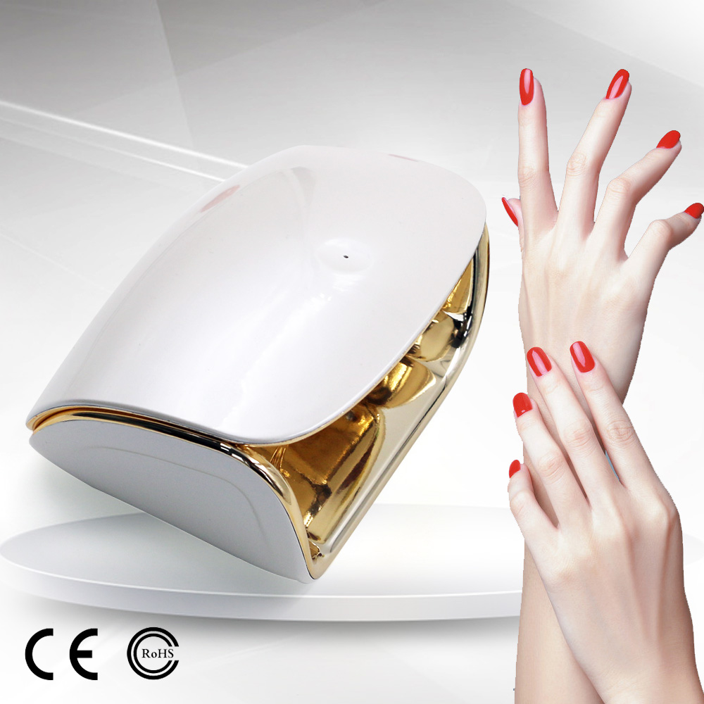 Uv Gel Lamp Led Timer Setting Nail Dryer Station