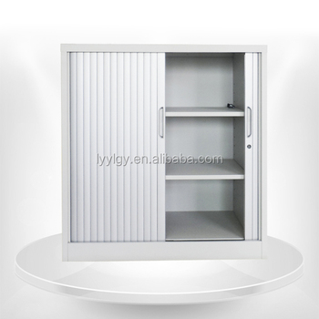 Custom Made Kitchen Cabinet With Tambour Door Buy Glass Sliding
