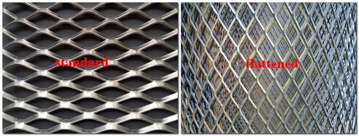 Galvanized raised expanded metal mesh ( Anping factory )