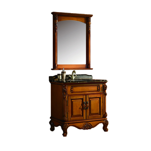 Wholesale Foshan 30 Inch Shabby Chic Victorian Clearance Bathroom Vanities For Hotel
