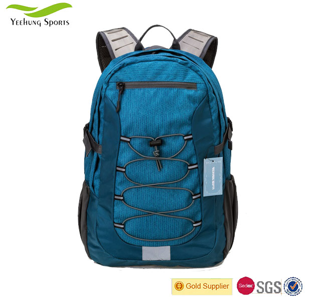 Lightweight Custom Outdoor Camping Hiking Backpacks, New Design Nylon Day Backpack Bag