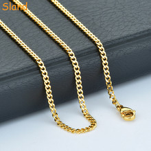 Custom wholesale 싼 Metal stainless steel 24 천개 <span class=keywords><strong>금</strong></span> jewelry 체인 necklace 대 한 men