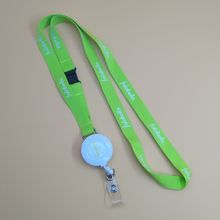 Intrekbare Yoyo Id Badge Houder Reel Clip met Meetlint Lanyard