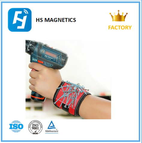 Magnetic Wristbands With 5 Powerful NdFeB Magnets for Holding Tools,Screws,Nails,Bolts, Drilling Bits and Small tools