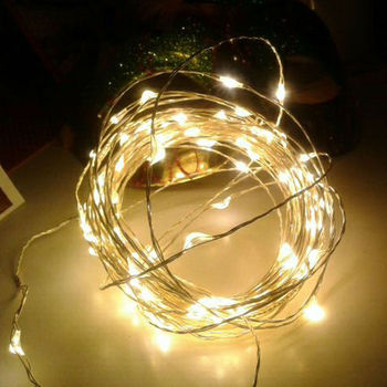 10m 100led dc power popular wholesale festival micro led copper wire string lights for outdoor christmas