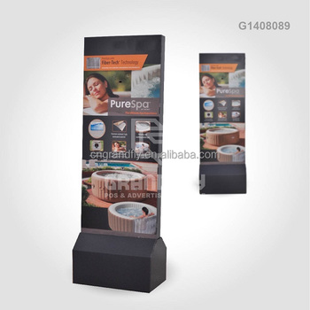 Advertising Cardboard Floor Banner Display Standee For Electronic Products  - Buy Banner Stand Cardboard Display,Advertising Cardboard Banner,Lcd
