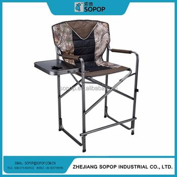 Sedia Da Regista Personalizzata.Personalizzato Di Alta Posteriore Camo Pieghevole In Alluminio Sedia