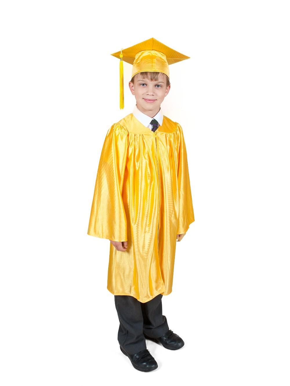 American Children Preschool Kindergarten Graduation Gown Cap Set ...