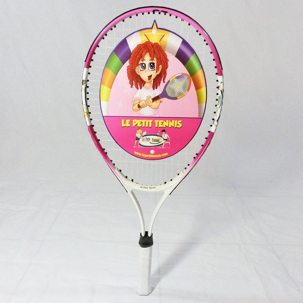 Le Petit Tennis PINK Racquet 23 Inches (Ages 7 & 8)