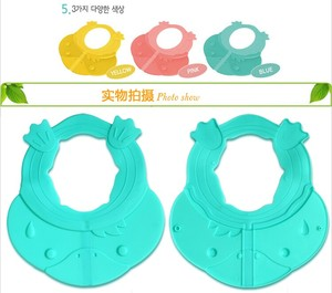 Wholesale Silicone Children Shampoo Hat Kids Bathing Cap Baby Shower Cap