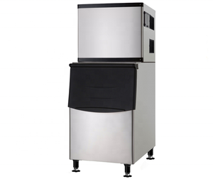 High Quality Cube Ice Maker With Imported Compressor 318 kg daily ice making machine