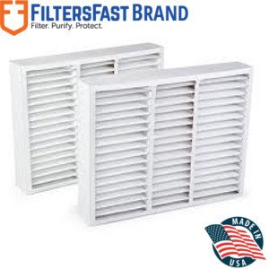 """FiltersFast Compatible Replacement for Honeywell FC100A1011 20"""" x 20"""" x 5"""" (Actual Size: 19.75"""" x 19.875"""" x 4.375""""), 2-Pack MERV 11"""