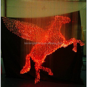 ZHONGSHAN YEENOO BRAND FLYING HORSE DESIGN CHANDELIER