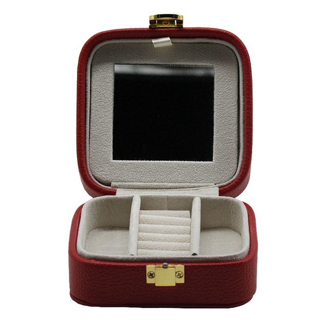 Top selling travel case mirror jewelry box