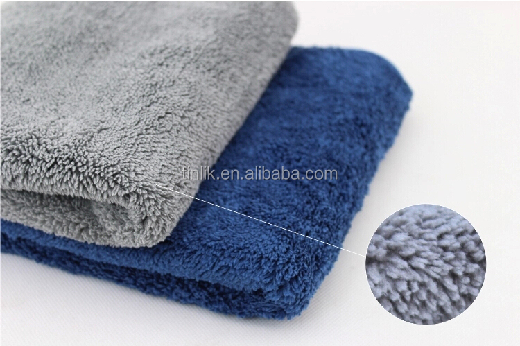 16 x16 microfiber car cleaning towels ultra thick buffing cloths absorbent car drying polish. Black Bedroom Furniture Sets. Home Design Ideas