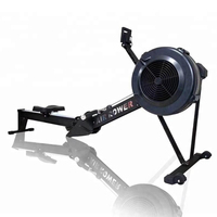 Gym Fitness Equipment Air Rower Rowing Machine Foldable for Home and Commercial