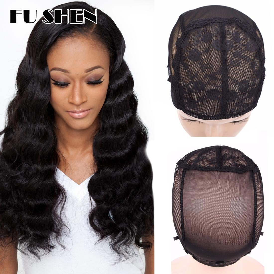 Humorous 1 Pcs Double Lace Wig Caps For Making Wigs And Hair Weaving Stretch Adjustable Wig Cap Hot Black Dome Cap For Wig Hair Net With The Best Service Hair Extensions & Wigs