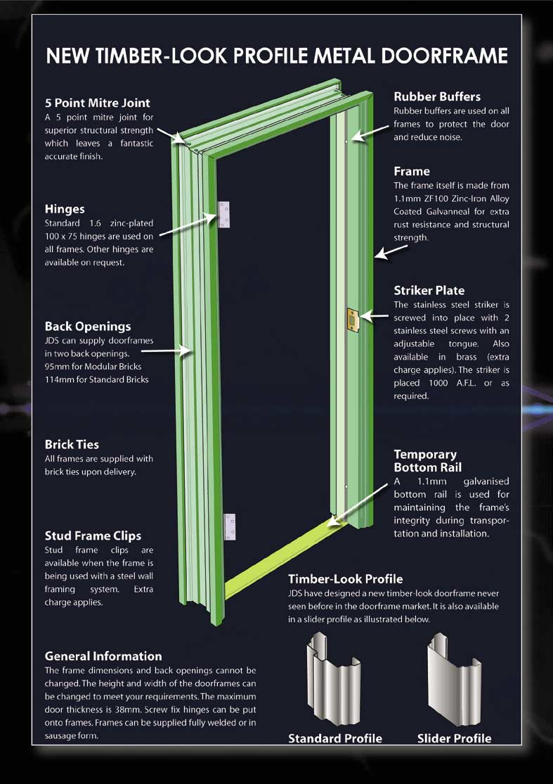 metal door frames perth frame design reviews