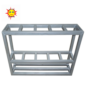 "New arrival 3"" 5 shots iron fireworks display rack"