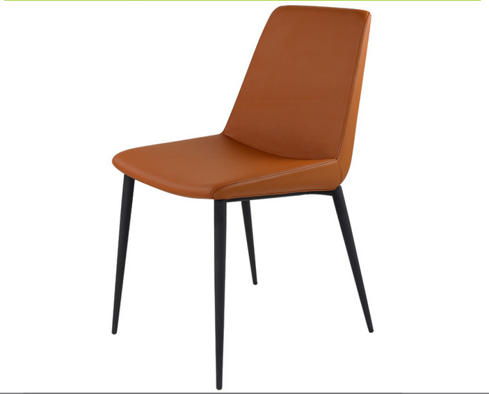 alibaba kitchen chairs PU fabric modern dining chair