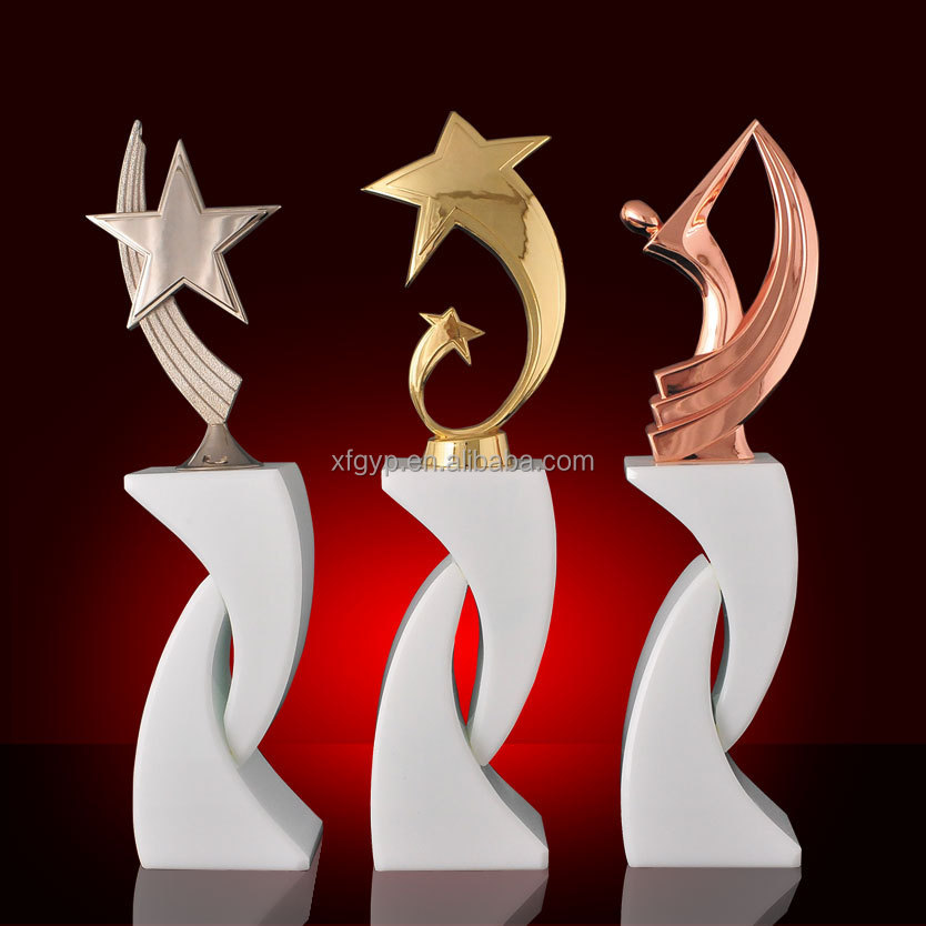 creative new designed sport metal medal awards and trophy in China