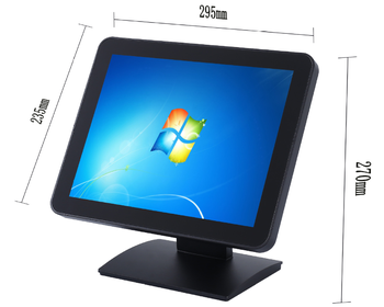 15'' Inch USB Powered Computer LCD LED  pos touch screen monitor