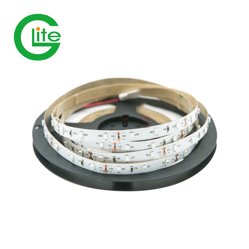 Glite  led strip light  cheap  Price   high brightness dc12v 3528 led tape