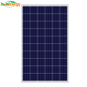 High efficiency light weight solar panel home roof 260w 270w 280w polycrystalline solar power systems 220v 110v