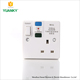 High quality Single RCD power switch socket for wall sockets and switches