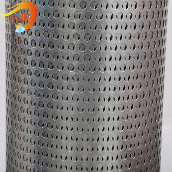 perforated metal mesh punched steel sheet with PVC treatment