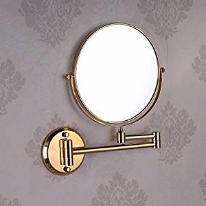 Bathroom mirrors Bathroom mirrors hotel wc antique makeup mirror wall telescopic fold a bathroom mirror continental round beauty mirror