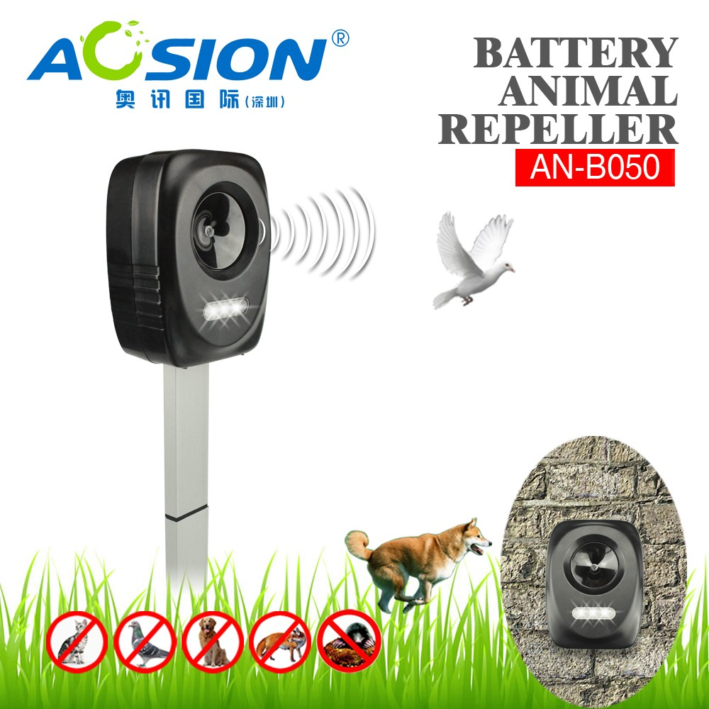 Aosion top rated high efficient solar animal cat repeller