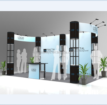 Portable Exhibition Display : Portable exhibition trade show booth display stand for advertising