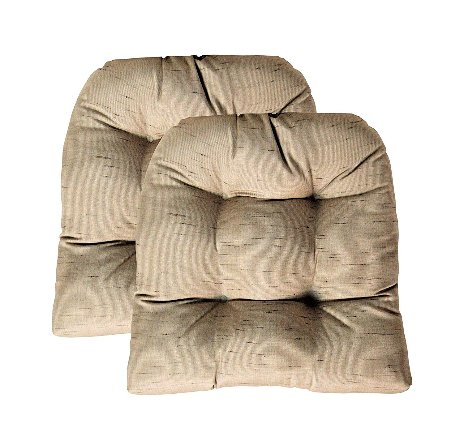 Buy Set Of 2 Indoor Outdoor Tufted U Shape Cushions For