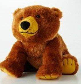 "Eric Carle ""Brown Bear, Brown Bear"" Plush 12"" Bear"