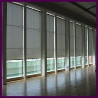 Cheap price factory sale flame retardant blinds half-blackout curtains waterproof roller blinds