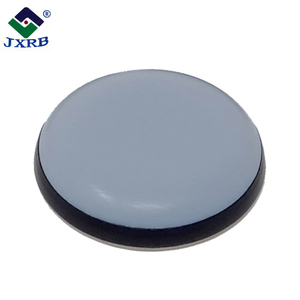 Wholesale rubber leg pads furniture protective with teflon adhesive chair glides