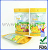 FDA certificated food vacuum plastic bag for snack packing