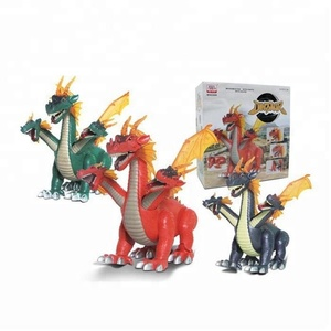 2018 hot small plastic dragon toys wholesale