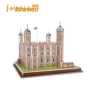 3D EPS foam paper modelsTower of London 3D Puzzle by Creativity for Kids