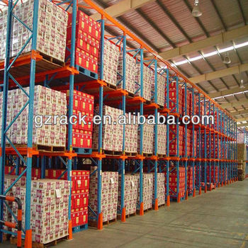 Heavy Duty Vertical Storage Racks / Storage Portable Stacking Racks For  Warehouse Racks / Warehouse Pallet