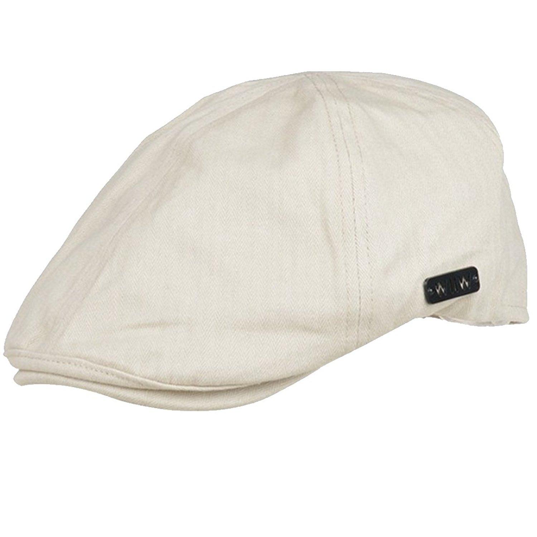 06712ba2f6c Get Quotations · LerBen Women Warm Vintage Newsboy Hat Flat Cap Cabbie Ivy  Cap Peak Hat