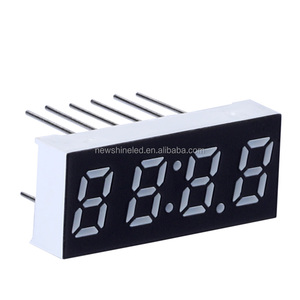 Factory cheap price 0.28 inch 7 segment led display 4 digit small seven segment led display for electronic led signs