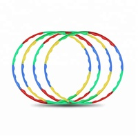Factory Custom Detachable PP Plastic Hula Hoop, Hula Hoop Fitness