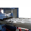 CE CERTIFICATION PS THERMOCOL PLATES/TRAYS/BOWLS/CONTAINER/BOX MAKING MACHINE , FOAM PLATES MACHINE